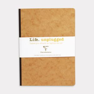 Clairefontaine Essentials A5 Lined Notebook Tobacco