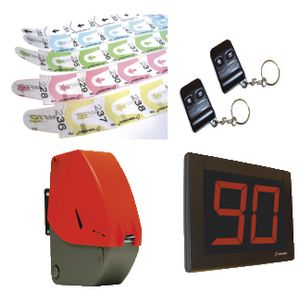 Checkpoint Turn-O-Matic S3 Ticket Dispenser Kit