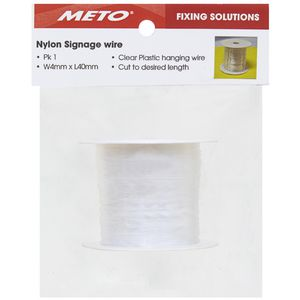 Meto Nylon Sign Wire 40m