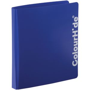 ColourHide Binder A4 2 D-Ring Blue