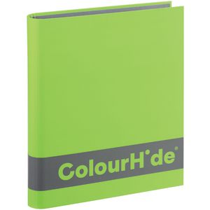 ColourHide A4 Silky Touch Binder 25mm Lime