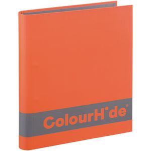 ColourHide A4 Silky Touch Binder 25mm Orange