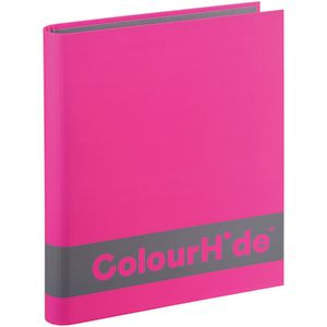 ColourHide A4 Silky Touch Binder 25mm Purple
