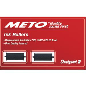 Meto Replacement Ink Roller for Meto Price Markers 2 Pack