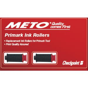 Meto Replacement Ink Roller for Primark Labelling Gun 2 Pack