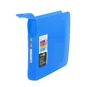 ColourHide Binder A4 2 D-Ring 38mm Tuff Ring Blue