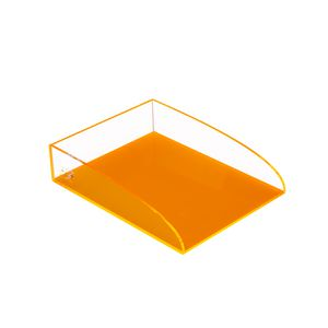 ColourHide Glo Document Tray Orange
