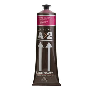 Chroma Lightfast Art Students Acrylic 120mL Alizarine Crimson