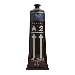 Chroma Lightfast Art Students Acrylic 120mL Warm Grey
