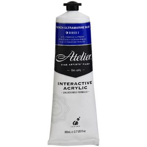 Atelier Interactive Acrylic 80mL French Ultramarine Blue S2