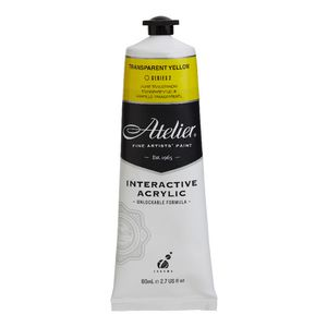 Atelier Interactive Artist Acrylic 80mL Transparent Yellow S2