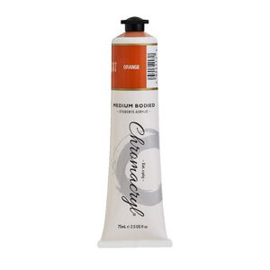 Chromacryl Student Acrylic Paint 75mL Orange