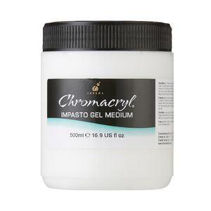 Chromacryl Impasto Gel Medium 500mL