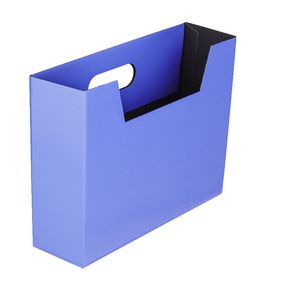 Collapsible Cardboard Document Holder Purple