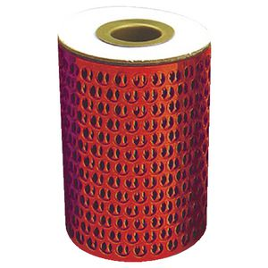 Colorific Honeycomb Mesh 10m Circles Red
