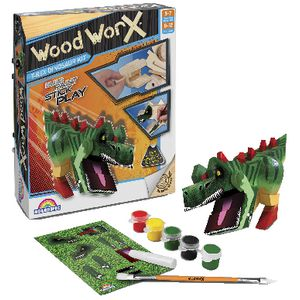 Wood Worx T-Rex Dinosaur Kit