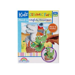 Colorific Ceramic Fun Paint a Dinosaur Kit
