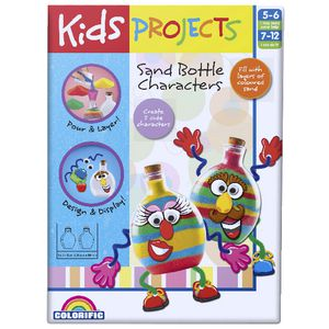 Kids Projects Sand Bottle Set