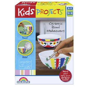 Kids Projects Ceramic Bowl Set