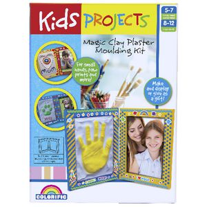 Kids Projects Magic Clay Plaster Kit