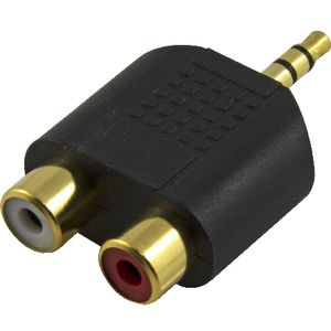 Comsol 3.5mm Stereo Male to 2 RCA Female Audio Adaptor