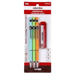 Columbia Everyday Mechanical Pencil with Lead 3 Pack