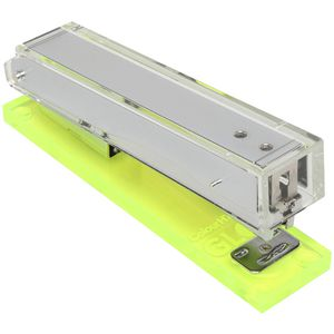 Colourhide Glo My Glowing Acrylic Stapler Yellow