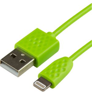 Comsol Lightning to USB Cable 1m Green