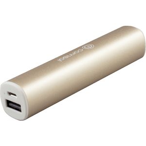 Comsol 2200mAh Aluminium Powerbank Metallic Gold