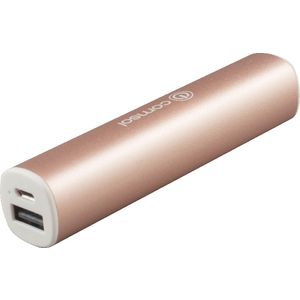 Comsol 2200mAh Aluminium Powerbank Metallic Rose Gold