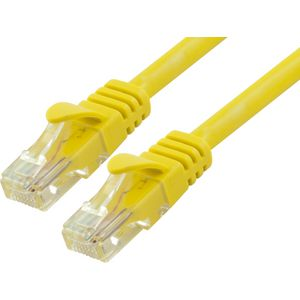 Comsol Cat 6 Ethernet Cable 50cm Yellow