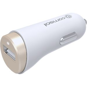 Comsol 2.4A Single Port Car Charger Gold