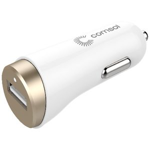 Comsol Single Port Car Charger 2.4A/12W Gold