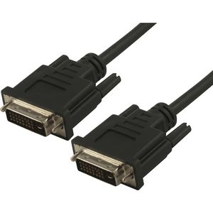 Comsol Male to Male DVI-D Dual Link Cable 2m