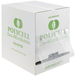 Polycell Bubble Wrap with Dispenser Carton 375mm x 50m