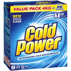 Cold Power Ultra Laundry Powder 4kg