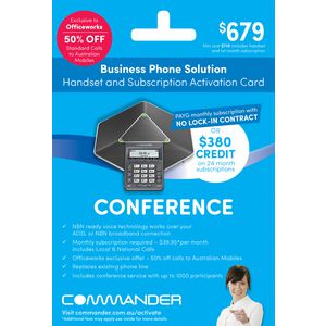 Commander Conference Phone CP860