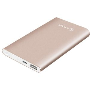 Comsol 4000mAh Aluminium Powerbank Metallic Rose Gold