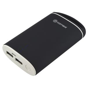 Comsol 6600mAh Dual Port Powerbank Black