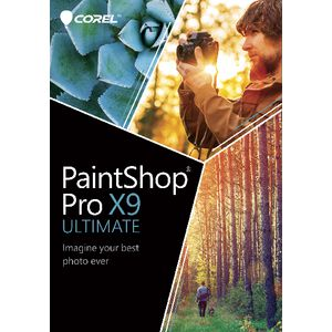 Corel PaintShop Pro X9 Ultimate Windows Box