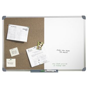 Quartet Aluminium Frame Combination Board 900 x 600mm