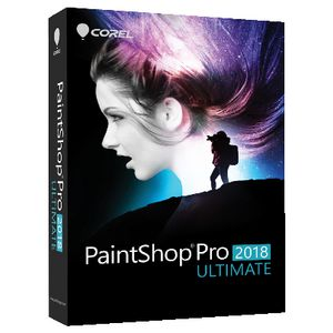 Corel PaintShop Pro 2018 Ultimate Windows Box