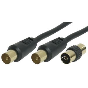 Comsol Male-Male 5M Antenna Cable with Female Adaptor
