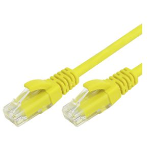 Comsol RJ45 Cat 6 Patch Cable 5m Yellow