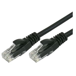 Comsol RJ45 Cat 6 Patch Cable 10m Black