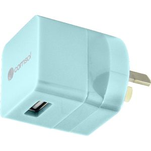 Comsol Single Port USB Wall Charger 1A/5W Limpet Shell
