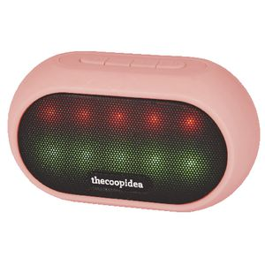 thecoopidea Live LED Bluetooth Speaker Pink