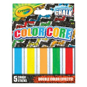 Crayola Colour Core Chalk 5 Pack