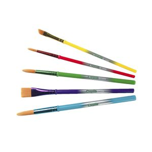 Crayola Art Craft Brushes 5 Pack