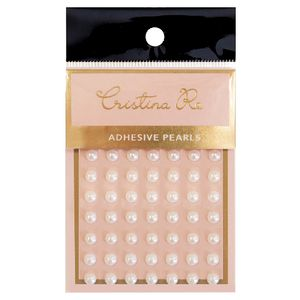Paper Chic Adhesive Pearls 3mm 70 Pack